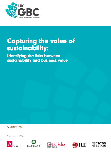 Capturing the value of sustainability: